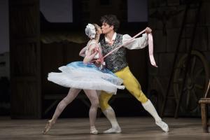 La Fille mal gardée, Ballet by F. Ashton